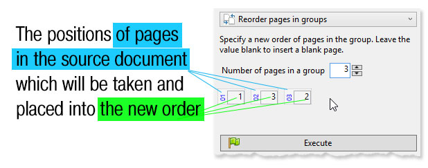ReproScripts Pro Page Tools - repositioning pages in groups
